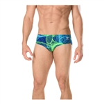 Speedo Male Brief Cyclone Strong Blue/Green