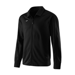 Speedo Streamline Warm-up Jacket Black/ w/embroidery of Team Log and Last Name (Male or Female Fit)