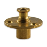 MEYCO BRASS WOOD DECK ANCHORS W/ SCREWS