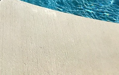 Broomed Concrete Decking, Pool space