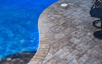 Paver Coping, Swimming pool