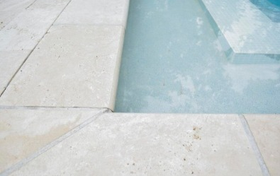 Travertine Coping, Pavers for swimming pools