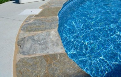 Flagstone Coping, Pool pavers