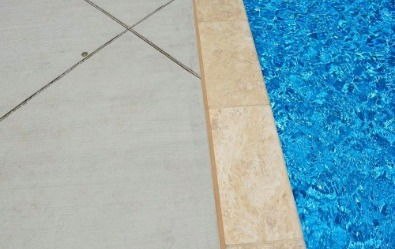 Travertine Coping, Swimming pool paver