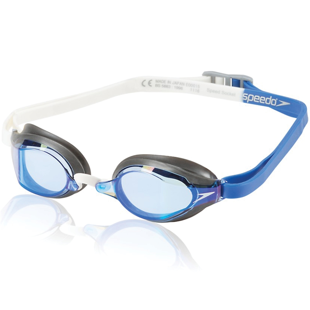 59b49becb6 Speedo Speed Socket 2.0 Mirrored Goggle Clear