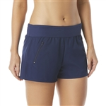 Beach House April Stretch Woven Beach Short - Beach Solids