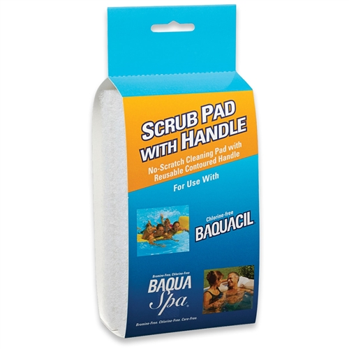 BAQUACIL SCRUB PAD WITH HANDLE