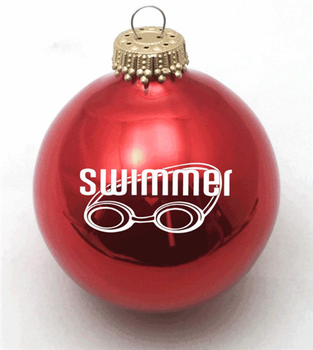 Swim Goggles Ornament