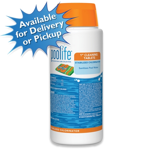 "poolife 1"" Cleaning Tablets Stabilized Chlorinator"