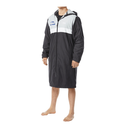 Parka for the Riptide Swim Team