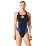 Summit Diving Club Female Super Pro Back with embroidery