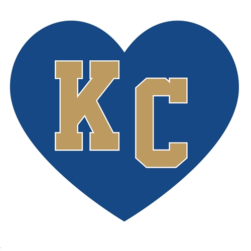 KC Blue Sticker